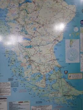 Mapa, Hotel Kosten Aike [Julio]