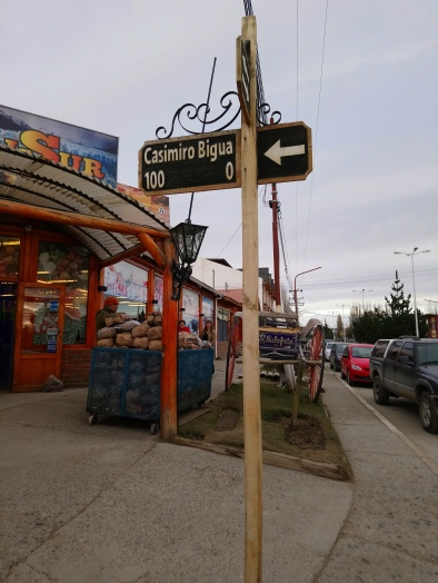 "Nombre de calle ""Casimiro Bigua"" [Julio]"