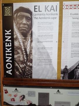 Aonikenk, Museo Histórico Municipal [Julio]