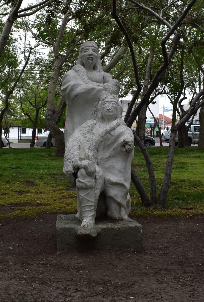 Estatua Tehuelche [Noviembre 2018]